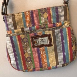 FOSSIL VINTAGE COLLECTION CROSSBODY PURSE, BAG